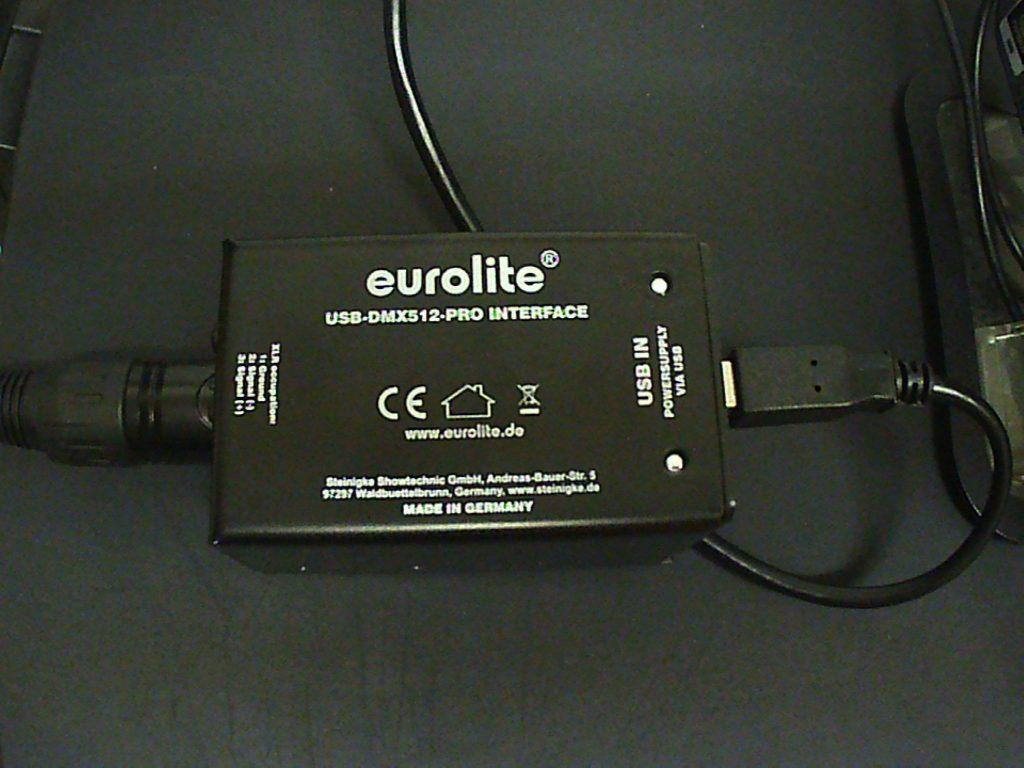 Eurolight USB-DMX512-Pro